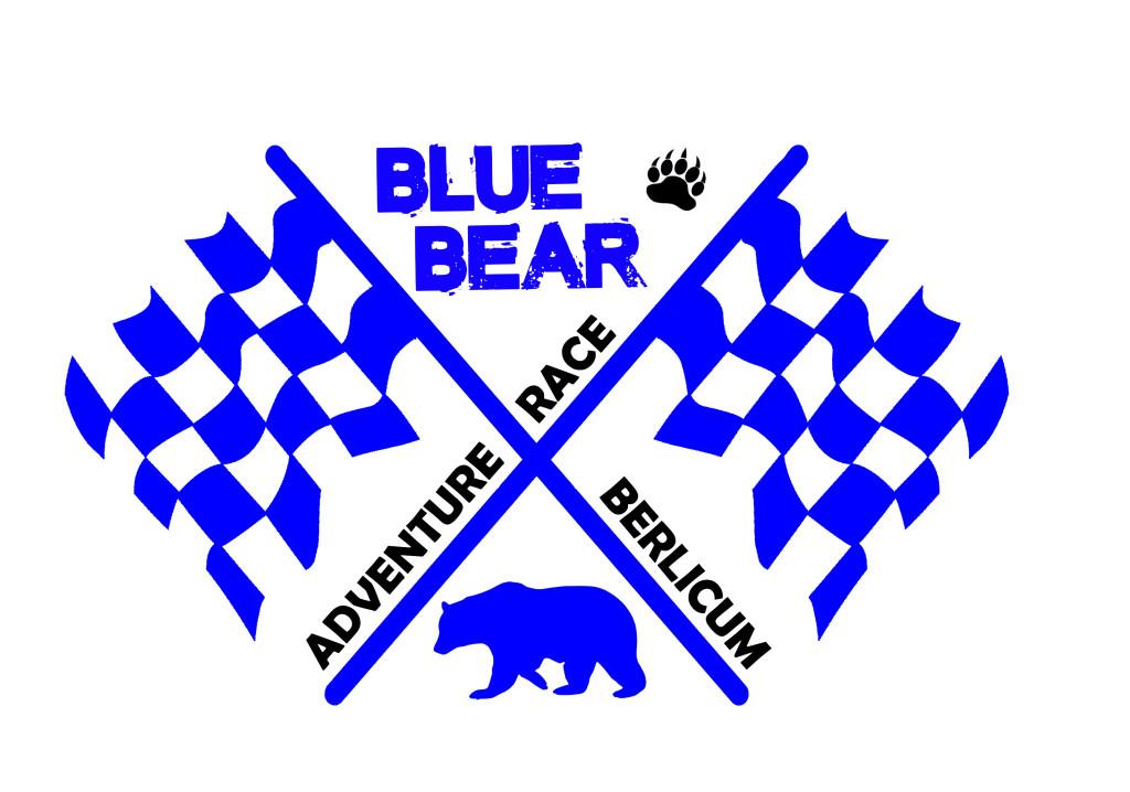Het logo van de Blue Bear Adventure Race.